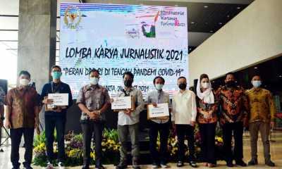 Pimpinan Dewan Apresiasi Lomba Karya Jurnalistik KWP yang Angkat Peran DPR di Tengah Pandemi