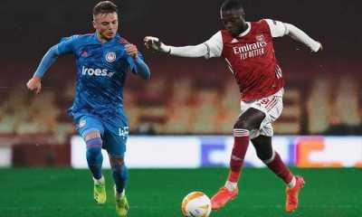 Kalah dari Olympiakos di Leg Dua, Arsenal Tetap Lolos ke Perempat Final Liga Eropa