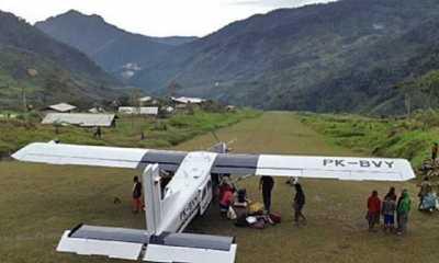 Kapolres Puncak Bantah Isu Terkait ada Penyanderaan Pesawat Milik Susi Air