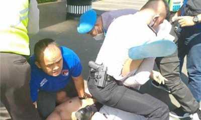 Kata Polisi, Motif Pria Bawa Pisau ke Polres Jaksel Mau Bunuh Diri