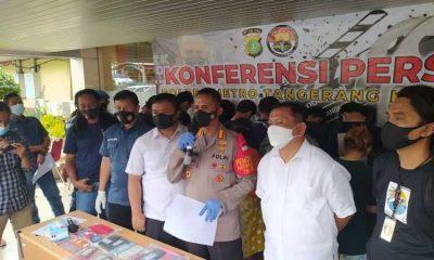 Nyambi Jadi Mucikari Prostitusi Online, IRT di Tangerang Dicokok Polisi