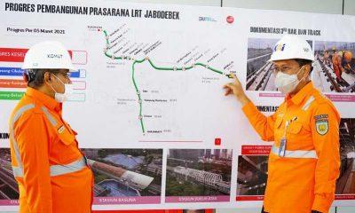 Tinjau Proyek LRT Jabodebek, Said Aqil: Semoga Selesai Tepat Waktu