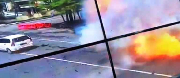 Video Bom Bunuh Diri Di Katedral Makassar Beredar Luas