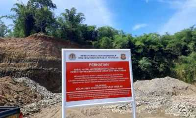 Rusak Lingkungan, KLHK Segel Dua Galian C di Purwakarta