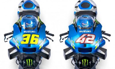 Suzuki Resmi Rilis Motor Anyar Tunggangan Joan Mir dan Alex Rins