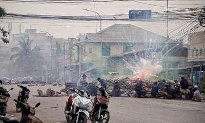 Junta Militer Myanmar Coba Bungkam dan Tekan Media
