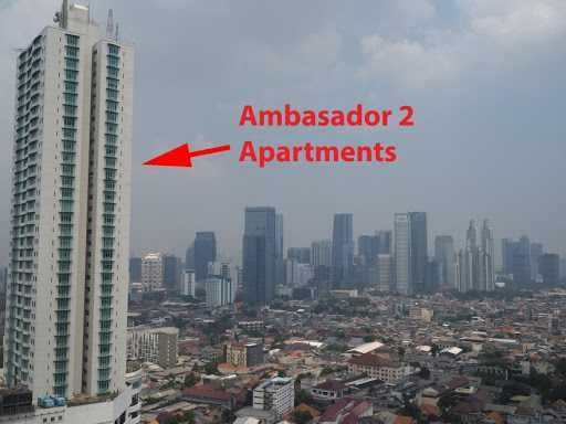 Sempat geger, Akibat Seorang Pria Melompat dari Balkon Lantai 23 Apartemen Ambassador