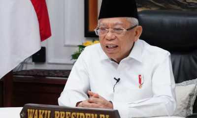 Wapres Ma'ruf Amin : Indonesia Hadapi Tiga Tantangan Pengembangan Ekonomi Syariah