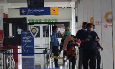 Walau Mudik Dilarang, Bandara Radin Inten Tetap ketat Terapkan prokes