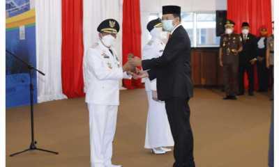 Lantik Bupati dan Wakil Bupati Sumbawa, Gubernur NTB Minta Tetap Fokus Pada Penanganan Pandemi dan Banyak Mendengar Keluhan Masyarakat