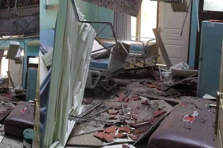 Diguncang Gempa Dengan Kekuatan 6,7 Magnitudo, Sejumlah Bangunan di Kabupaten Blitar rusak