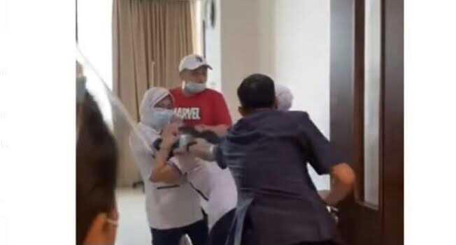 Dalam Hitungan Jam, Polisi Berhasil Menangkap Pria Penganiaya Perawat RS Siloam Palembang