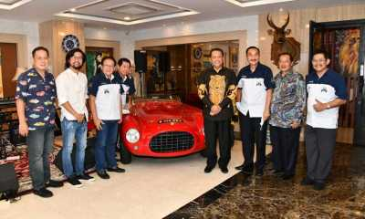 TerimaPerhimpunan Penggemar Mobil Kuno Indonesia, Bamsoet Dorong Pembangunan Museum Mobil Klasik
