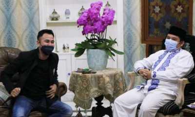 Bahas Kerjasama Majukan Persikota, Raffi Ahmad Temui Wali Kota Tangerang