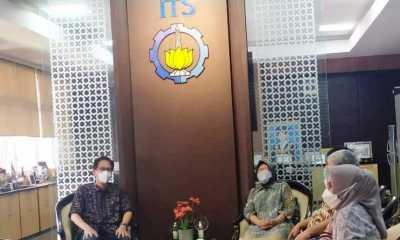 Mensos Tri Risma Sambangi ITS Untuk Petakan Daerah Rawan Bencana di Indonesia