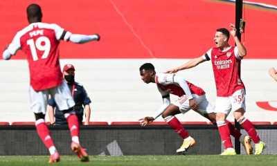 Gol Telat Nketiah Selamatkan Muka Arsenal dari Kekalahan di Kandang