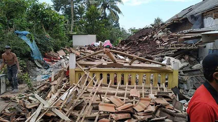 Terkait Gempa di Jatim, Presiden Perintahkan Jajarannya Ambil Langkah Tanggap Darurat