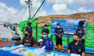 Polairud Polda Kalbar Gagalkan Rencana Penyelundupan 100 Ton Rotan ke Malaysia