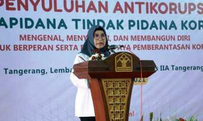 KPK Gelar Penyuluhan Bagi Napi Tipikor di Lapas Kelas IIA Tangerang
