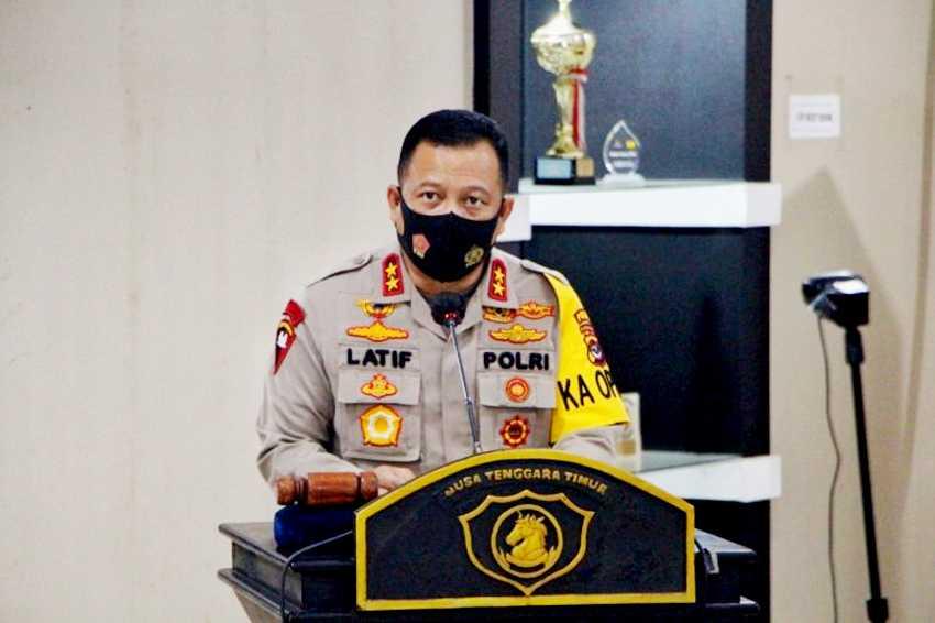 Pasca Serangan di Mabes Polri, Kapolda NTT Perintahkan Jajarannya Tingkatkan Pengamanan