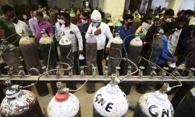 Karena Kekurangan Oksigen, Kematian Akibat COVID-19 di India Lampaui 200.000