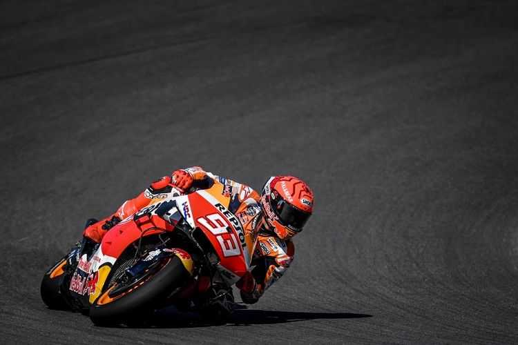 MotoGP Italia: Mengaku Sulit Berada di Barisan Depan, Marquez Sadar Akan Keterbatasan Fisiknya