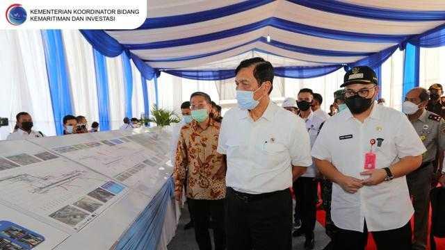 Menteri Luhut Targetkan Bandara Kediri Rampung Pertengahan 2023