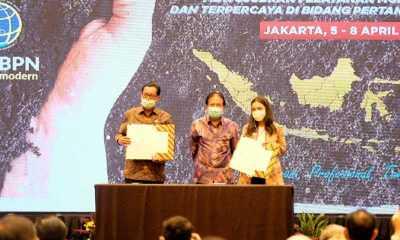 Peruri Teken MoU dengan Kementerian ATR/BPN Terkait Solusi Digital