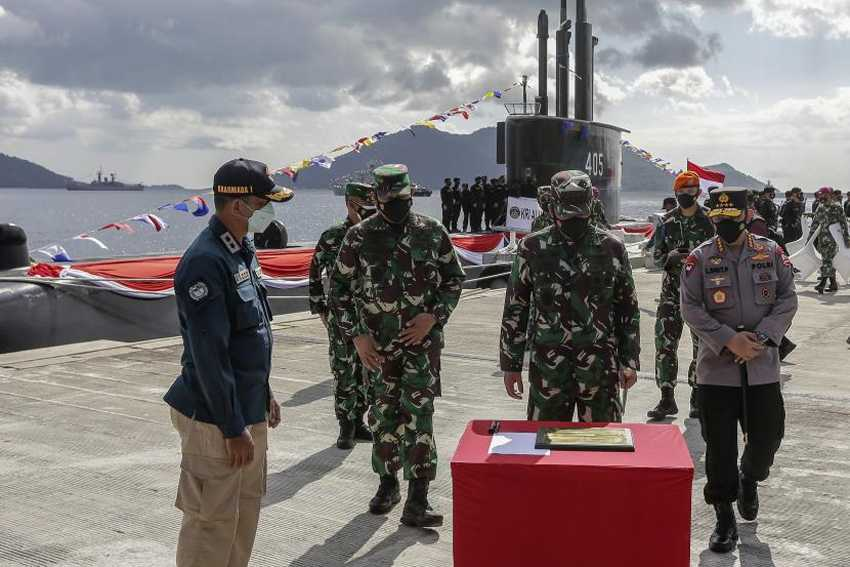 Panglima TNI Resmikan Pembangunan Markas Komado Tempur Laut di Natuna