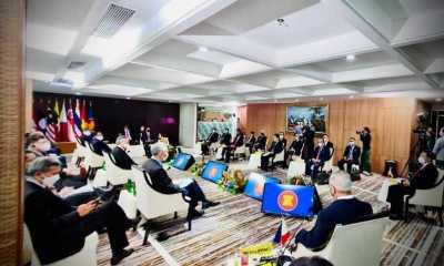 Para Pemimpin Negara ASEAN Bahas Situasi di Myanmar