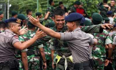 TNI/Polri Gerakkan Anggotanya Sosialisasikan Larangan Mudik Lebaran