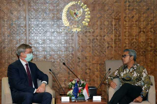 Terima Kunjungan Uni Eropa, GKSB DPR Tingkatkan Kerja Sama 'Green Agenda'