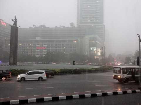 BMKG : Jakarta Diperkirakan Hujan Pada Senin Malam