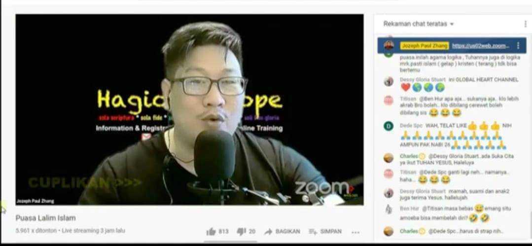 Jozeph Paul Zhang Pria Mengaku Nabi ke 26 itu Diduga Kini Berada di Jerman
