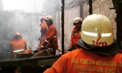 Tercatat 112 Rumah Warga Taman Sari Hangus saat Kebakaran