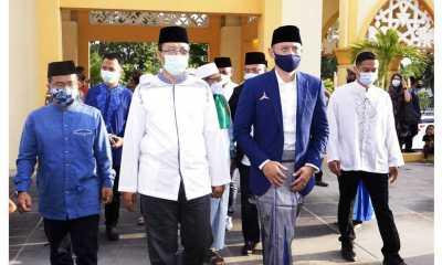 Jumpa di Lombok, AHY dan Gubernur NTB Diskusi Soal Bangsa Dan Negara