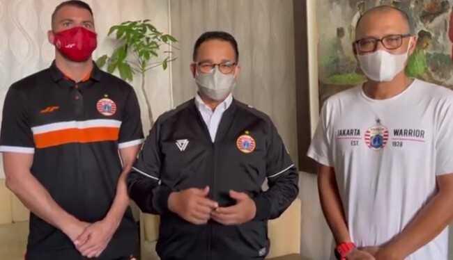 Persija Juara Piala Menpora 2021, Anies: Alhamdulillah Kita Bersyukur