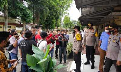 Berikan Dukungan Moril Kepada KPK, Kapolda Sumut Kunjungi Polres Tanjungbalai