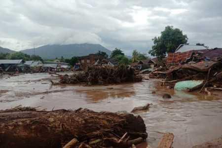 'Update' Banjir Bandang Flores, Korban Meninggal Dunia Sudah Mencapai 63 Orang