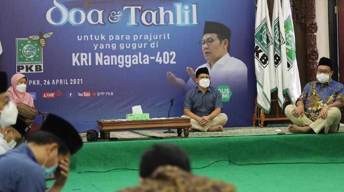 Cak Imin Pimpin Shalat Gaib Kenang Gugurnya Prajurit KRI Nanggala 402