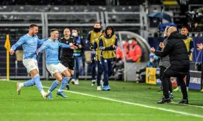 Gasak Dortmund 2-1, Manchester City Kokohkan Agregat Lolos Semifinal Champions