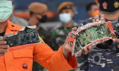 KNKT Berhasil Unduh Data Rekaman Suara Kokpit Sriwijaya Air SJ-182