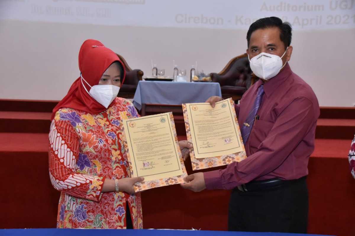 Gelar Pustaka Akademik Di Gunung Jati, Rektor UGJ: Sekarang Mahasiswa Bisa Mengakses Koleksi Perpustakaan MPR