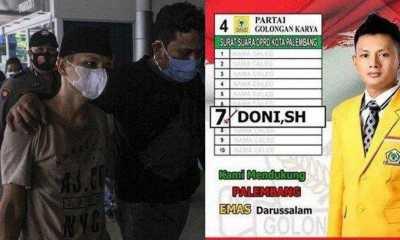 PN Kelas 1 A Palembang Vonis Hukuman Mati mantan Anggota DPRD Palembang