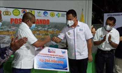 Bank NTT Donasikan Rp. 250 Juta Untuk Korban Banjir Bandang Malaka