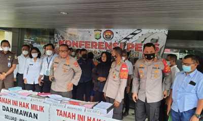 Polisi Tangkap Mafia Tanah di Tangerang
