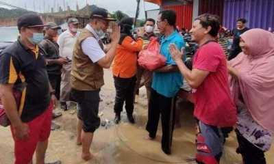 Sambangi Korban Banjir Bima, Gubernur NTB: Jangan Saling Menyalahkan