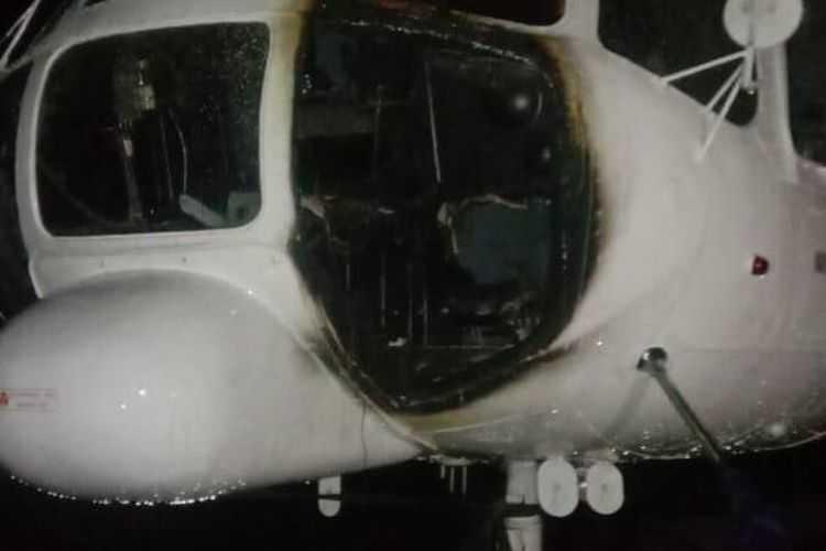 Aparat Gabungan Buru KKB Pembakar Helikopter di Ilaga