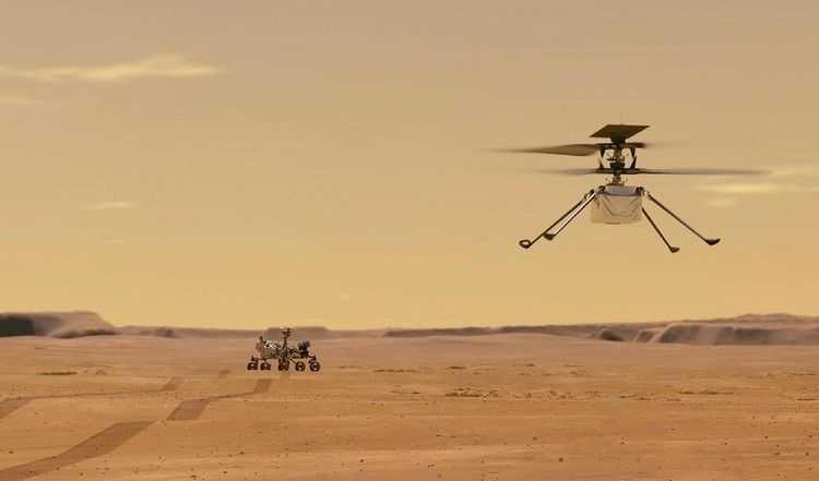 Senin Besok, NASA Akan Kembali Terbangkan Helikopter Mini di Mars