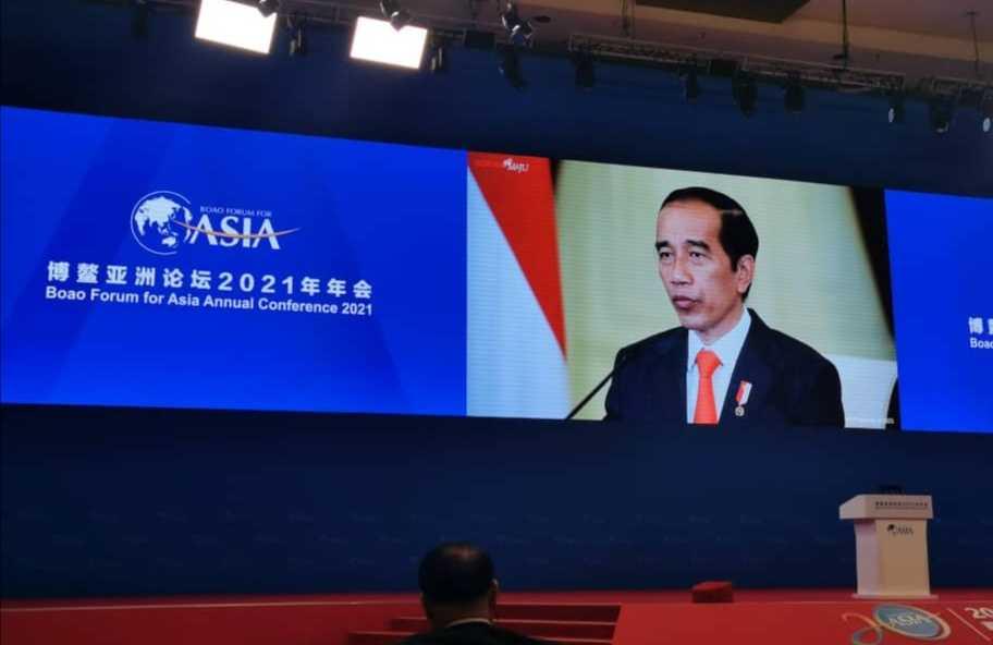 Di Acara BFA AC , Jokowi Serukan Kerjasama Kesehatan dan Pemulihan Ekonomi